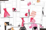 Printable Planner: Watercolor Planner Series Easy Print Planner #2 - 31 Day Printable Planner Book PDF