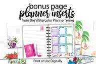 Wildcard Essential Planner Pages Bundle 1 -  printable planner essentials