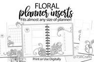 Floral Doodle  Planner volume 3