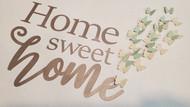 Home Sweet Home with Butterflies Digital Design