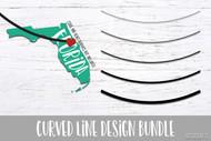 Curved Line SVG MEGA Bundle  - A bundling of bundles! Includes 3 different curved line bundles - perfect for DIY & Crafts - curve bundle svg