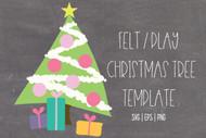 diy felt christmas tree for toddlers