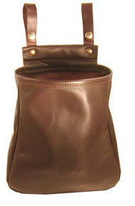 #255 Leather hull bag