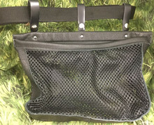 #258 Bird/Hull mesh bag w/snap straps