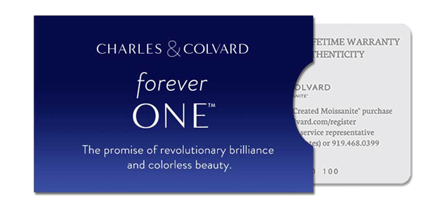 Charles & Colvard® Forever ONE® Round Brilliant Cut Moissanite 5-Stone  Trellis Wedding Band in 14k White Gold - US-WR545-FO-14W