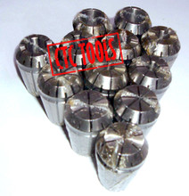 FULL ER11 COLLET SET 12 PCS CNC MILLING IMPERIAL LATHE MILL WORK TOOL HOLDER