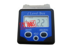 DIGITAL BEVEL BOX VIAL BUBBLE MINI PROTRACTOR ANGLE FINDER INCLINATOR