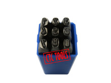 NUMBER HAND MARKING PUNCHES METAL MARKING STAMP IDENTIFICATION