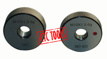 METRIC RING PLUG GO NOGO NO GO GAUGE GAGE 6H SCREW NUT TESTING