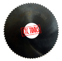 HSS SLITTING SLOTTING SAW BLADE CUT OFF CUT-OFF