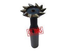 HSS DOVETAIL SLOT MILLING CUTTER 60°