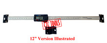 "INSPECTION MEASURING DIGITAL READ OUT DRO GAUGE 6""  8""  12"" INCH 150 MM 150MM 200 MM 200MM 300 MM 300MM MILLING LATHE XY TABLE GAGE"