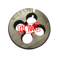 ROUND THREADING THREAD CUTTING STAINLESS ALLOY STEEL  DIE HSS CO COBALT TOOL STEEL M3 M4 M5 M6 M8 M10 M12 CNC