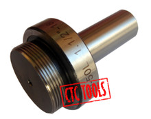 "BORING HEAD ARBOR 1-1/2"" 3/4"" CYLINDRICAL STRAIGHT SHANK LENGTH 2"" CNC"