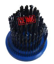 HSS BLACK M2 HSS METRIC DRILL BITS REVOLVING METRIC HOLDER STAND ORGANIZER