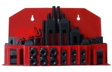CLAMPING KIT - 58PCS - FOR MILLING MACHINE T-SLOT T SLOT TABLE CNC