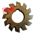 HSS INVOLUTE GEAR CUTTER MODULE 1 TO 8