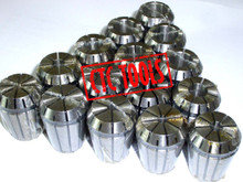 FULL ER25 COLLET SET 15 PCS CNC MILLING LATHE DIN6499 ISO15488 MILL WORK TOOL HOLDER