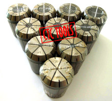 ER32 COLLET SET (10 PCS) CNC MILLING LATHE DIN6499 ISO15488 MILL WORK TOOL HOLDER