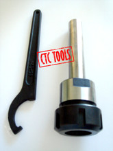 """ER32 COLLET CHUCK 3/4"""" STRAIGHT EXTENSION SHANK PRECISION MILLING MILL WORK TOOL HOLDER"""
