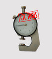 METRIC PLATE THICKNESS DIAL GAUGE GAGE MEASURING INSTRUMENT 0.1MM GRADUATION 10MM RANGE