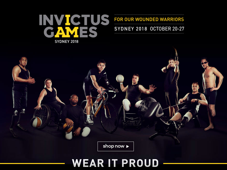 Titan Official Supplier Of The Invictus Games Sydney 2018 Cycling