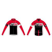 AP10 Womens Cycling Wind Jacket in Black