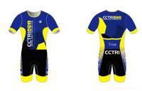 CCTri Mens Short Sleeve Tri Suit