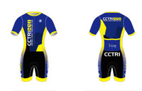 CCTri Womens Short Sleeve Tri Suit