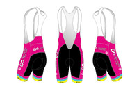 PRT Womens Cycling Bib Shorts