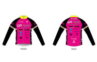 PRT Mens Long Sleeve Cycling Jersey