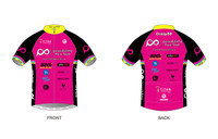 PRT Mens Short Sleeve Cycling Jersey