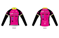 PRT Womens Long Sleeve Cycling Jersey