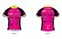 PRT Womens Short Sleeve Cycling Jersey