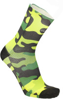 MB Wear Fun Socks Fluro Camo Unisize