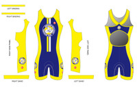 BWTC Womens Sleeveless Tri Suit