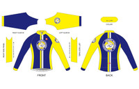 BWTC Womens Long Sleeve Cycling Jersey