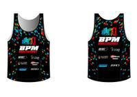 BPM Mens Running Singlet
