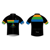 TEMPO Tri Men's Short Sleeve Cycling Jersey