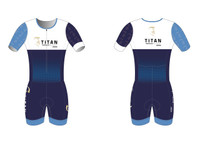 'The Davy' Short Sleeve Tri Suit