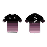 SWIFT Black Short Sleeve Running Shirt