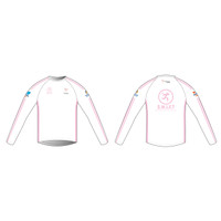 SWIFT White Long Sleeve Running Shirt