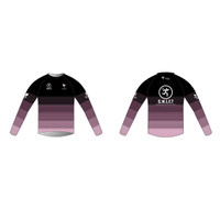SWIFT Black Long Sleeve Running Shirt