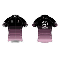 SWIFT Black Short Sleeve Cycling Jersey