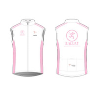 SWIFT White Cycling Wind Vest