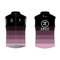 SWIFT Black Cycling Wind Vest