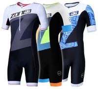 Men's Lava Long Distance Short Sleeve Aero Suit
