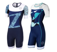 Women's Lava Long Distance Short Sleeve Aero Suit