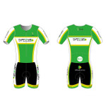 Men's Short Sleeve Tri Suit