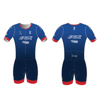 ASF Short Sleeve Tri Suit